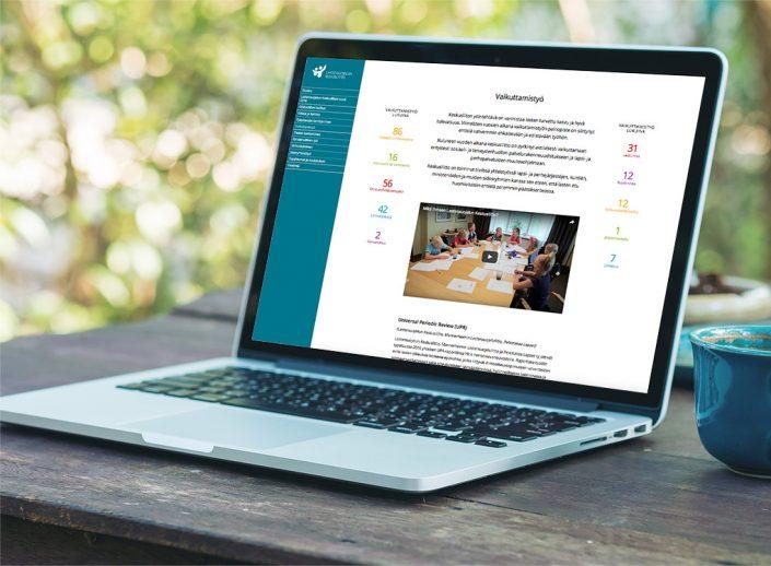 Lastensuojelun Keskusliiton nettivuosikatsaus 2016