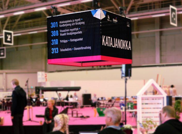 Taitaja2017 Helsinki messukeskus kattokuutio Katajanokka