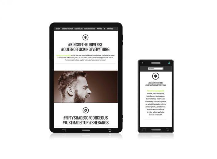 ImaGoal-kampaamon nettisivut