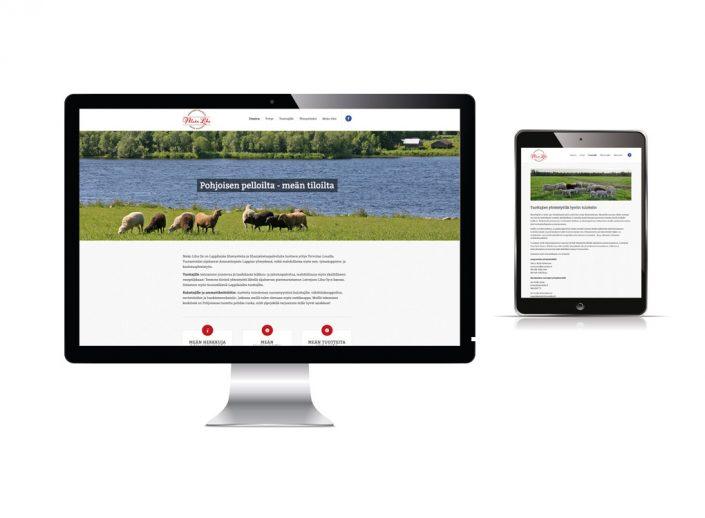 MeänLiha-nettisivut