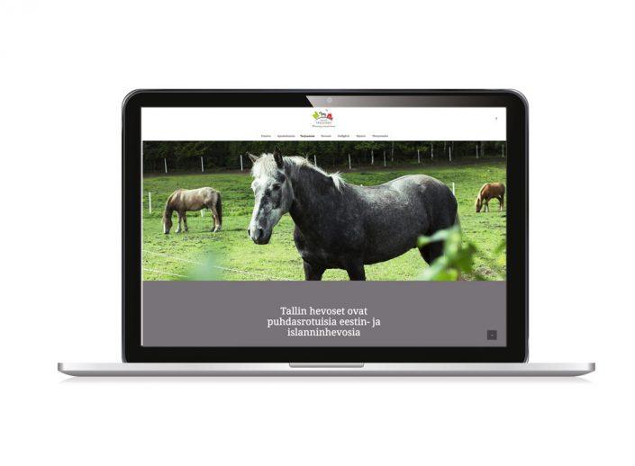 Hertsby Stallgård -nettisivut